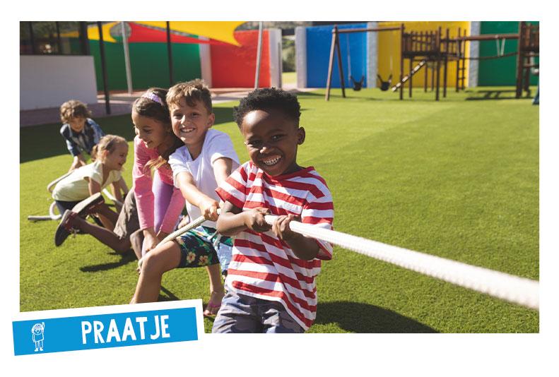 Spelenderwijs Nederland racisme vrij maken