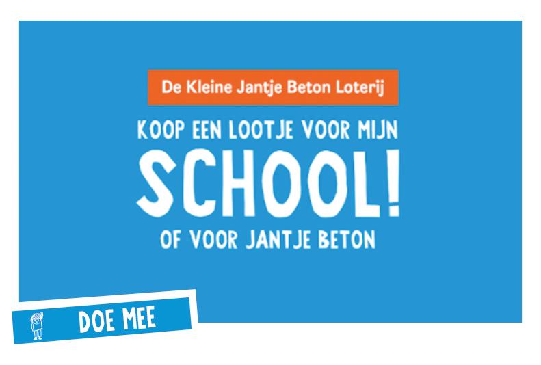 De kleine Jantje Beton Loterij - Tikkie jij bent hem!