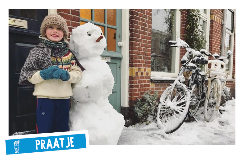 Spelen in de winter