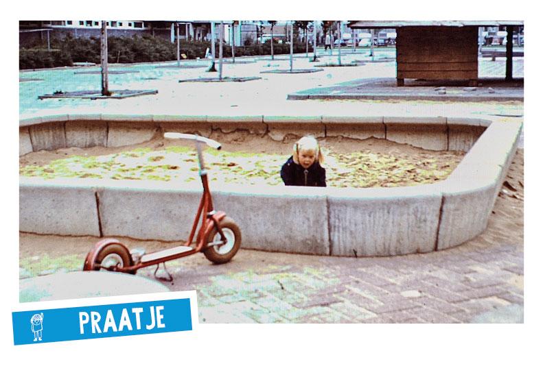 Jantje Beton Melanie Spelen in de stad