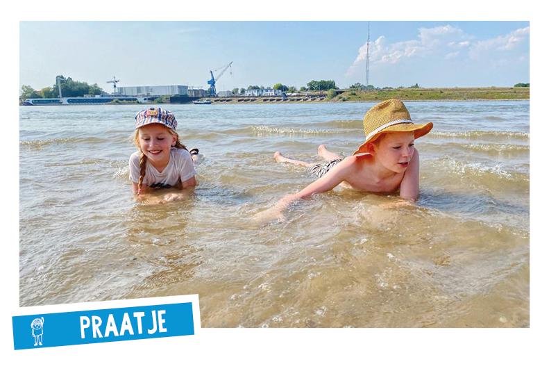 Spelen in de zomerzon Maandagdaandag Jantje Beton Speelbeweging