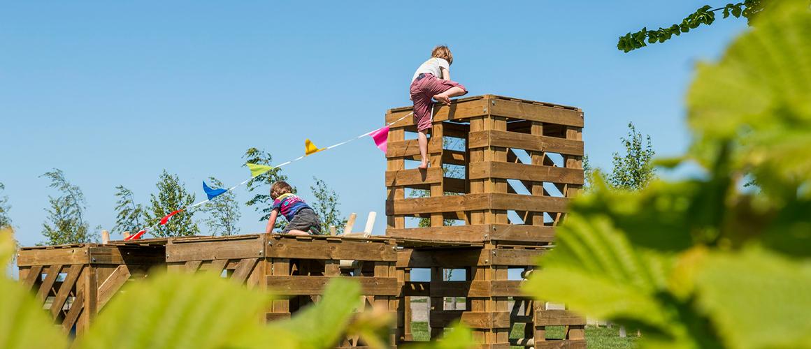 Hutten bouwen is een universele behoefte voor jong en oud