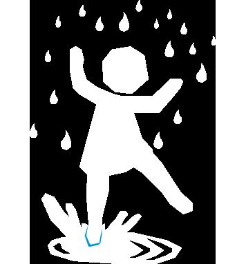 spelen met slecht weer
